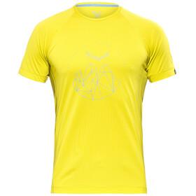 Salewa Pedroc Dry - Camiseta manga corta Hombre - amarillo